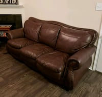 Leather Couch - Need gone ASAP McKinney, 75071