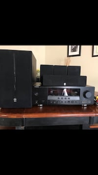 Black sony home theater system The Nation / La Nation, K0B