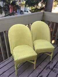 Outdoor French vintage wicker chairs 2 Bellevue, 98007