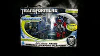 Transformers Optimus Prime figure box Edmonton, T5Y 2Y8