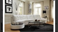 white and black sectional couch San Jose, 95126