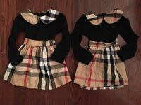Burberry authentic dresses size 2 - $125 each both new Toronto, M5V