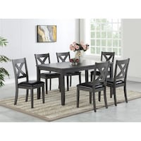 Dinning Table with 6 chairs Brampton, L6X 0E3