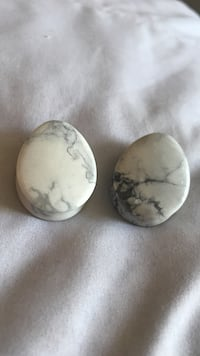 two white-and-black marble stones Fallbrook, 92028