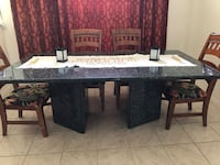 Marble top dining table w marble pedestal  Vero Beach, 32960