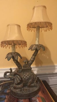 Heavy weight brass lamp Middleburg, 20117