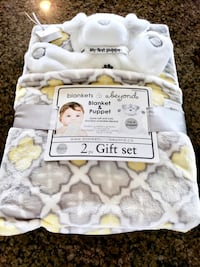 Baby blanket and puppet Pleasant Grove, 84062