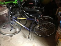 black and purple full-suspension bike Finksburg, 21048