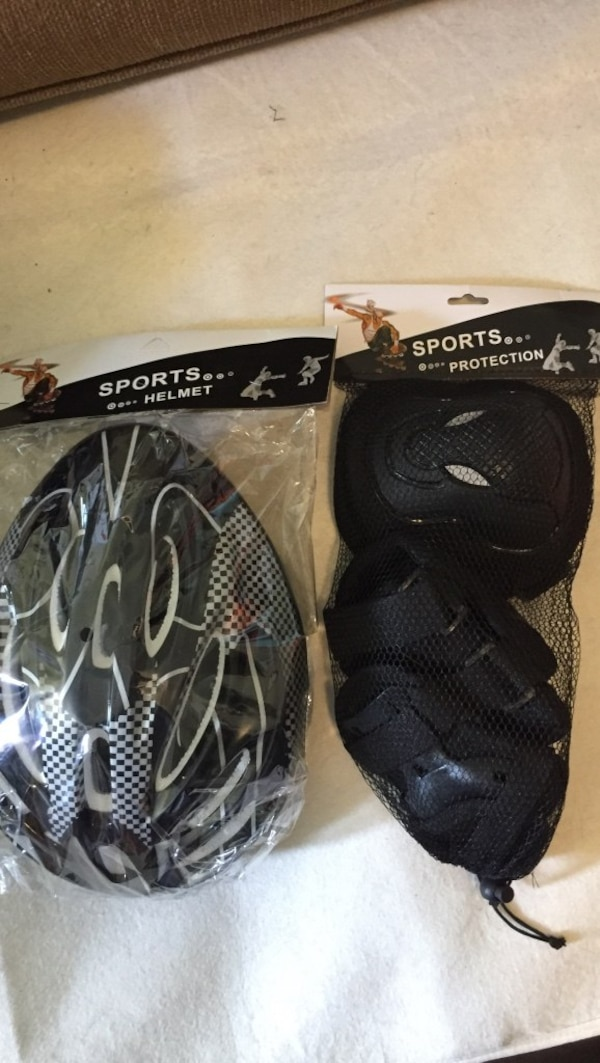 Helmet and pads