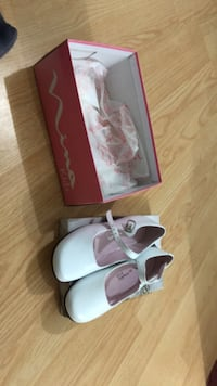 Brand new patent leather Nina kids shoes. I believe these retailed for $115+ tax. Only $40!!!! European 28, or 11 1/2 Medium. Laval, H7T 1C8