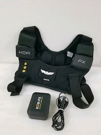 KOR-FX Tactical Response Immerse Gaming Vest, in excellent condition!