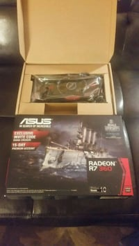 NEW video card !!! RADEON R7 360 OC, 2GB memory. Edmonton, T6M 2W5