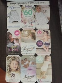 Baby Related Gift Cards Toronto, M1B 2W1