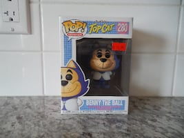 """*New* Funko Pop """"Animation"""" Top Cat """"Benny the Ball"""" #280 $10 PU Morinville"""