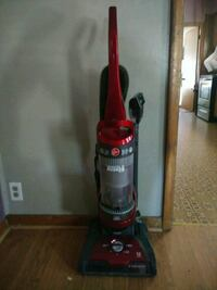 red and black Hoover upright vacuum cleaner Michigan City, 46360