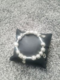 Silver bracelet with charms Mississauga, L5E 2N5