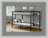 Twin bunkbed frame 2 mattress and free delivery McLean