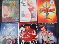 Home Alone / Girl Next Door / Snakes on a Plane / Frozen / Chappelle's Show / Ace Ventura Chicago