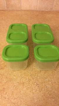 two green and green plastic containers Smyrna, 30080