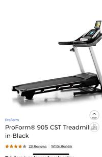 ProForm® 905 CST Treadmill in Black