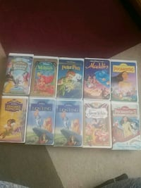 Lot of disney vhs ... 30 0bo Hagerstown, 21740