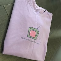 "New ~ life is good women's tee ""think outside the box"" size large Surrey, V4N 6A2"