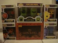 BRAND NEW Funko Pops (Simpson's & Lion King)!