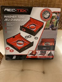 SOFT PORTABLE WASHER TOSS GAME