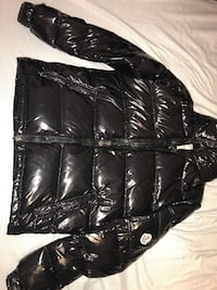 black leather zip-up jacket Vaughan, L6A 1C1