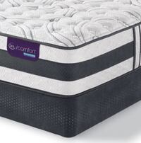 Serta iComfort Hybrid Applause II Twin Bed (Bed Frame, Mattress & Box Spring) Alexandria, 22305