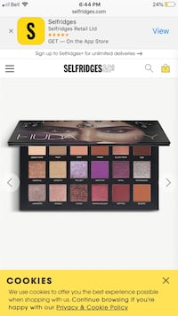 Brand new huda beauty pallet Mississauga, L4Z 1L1