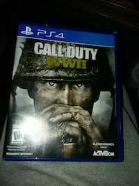 Call of Duty Ghosts PS4 game case Lubbock, 79404