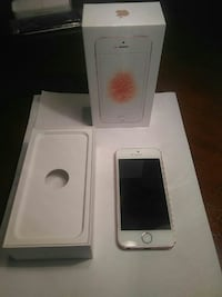 IPhone SE 16gb rose gold (CLEAN imei) parts only