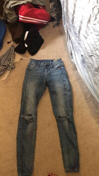 Jeans with holes, size 1 Portland, 97266