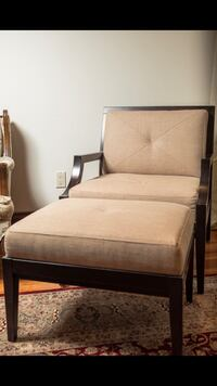 Chair and Ottoman Brand New