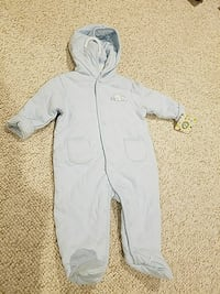 6-9 month coverall- never been worn tags still on