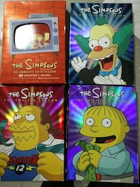 The Simpsons Seasons 5, 11, 12 and 13 DVD Mississauga, L4X 2M5