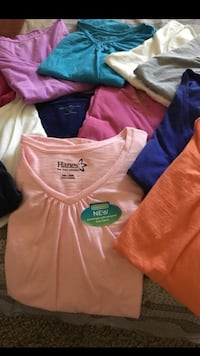 10 blouses and size 2x $30 Live Oak, 78233