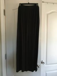 Size large, long black Maxi skirt. There is a slit up the leg on left side.  Spring Lake, 28390