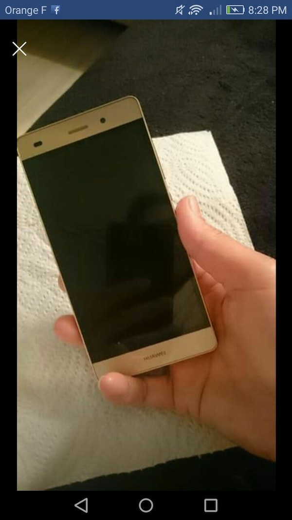smartphone d'or