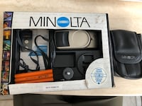 Minolta Riva Zoom 125 EX 35mm Point and Shoot Camera with Case