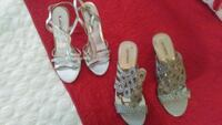 Silver shoes Size 7 North Myrtle Beach, 29582