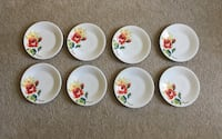 Homer Laughlin China - floral bouquet plates