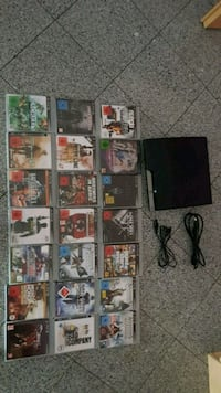 Sony PS3 Slim mit Game-Case-Sammlung Felsberg, 34587