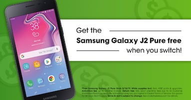 We love helping Livonia save ????. Get a FREE Samsung Galaxy J2 Pure when you switch!