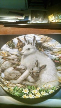 Bradex Arctic Hare Collector Plate Centreville, 20120