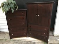 chest of drawers and armoire Lakewood, 08701
