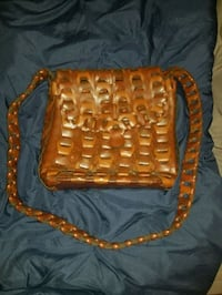Brown Hand Woven Purse Chesapeake