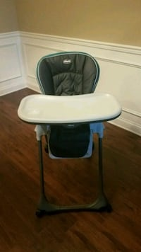 baby's white and black high chair Prospect, 40059