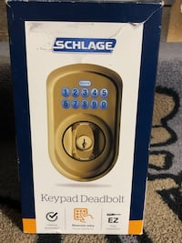 Schlage keyless entry with key never used Burnsville, 55337